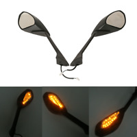 LED Turn Signal Rear Mirror Fit For Ducati 1199 1199S R 12-14 899 Panigale 14-15