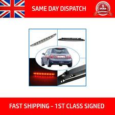 Per Mini Cooper One R50 R53 2001-2006 Chrome 3RD TERZA LUCE FRENO POSTERIORE LED STOP