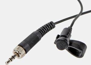 Official Trantec/Sennheiser Lapel/Lavalier Microphone