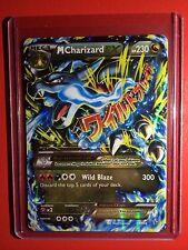 Pokemon card - M CHARIZARD EX -Holo XY X Edition 1st Mega 69/106 Flash Fire Set