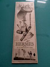 publicités ancienne  HERMES  SAC SELLERIE        (AA1 )