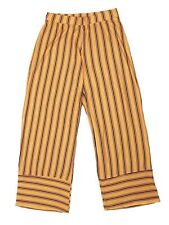 Lori & Jane Big Girls Mustard Black Striped Palazzo Pants 12-18