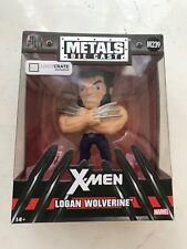 BOXED MARVEL METAL DIE CAST X-MEN LOGAN WOLVERINE FIGURE