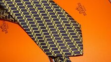 HERMES silk tie classic,   NEW  with box,