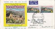 NZFD121) NZ 1965 Centenary of Government in Wellington Picture cachet FDC