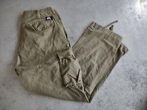 Nike SB Cargo Pants Men's Medium Olive Green Skateboard Wear M Drawstring Leg