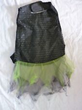 Black Sequined Tulle Dress Coat Puppy/Dog  Large