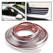 Chrome Decorative Strip Trim Cover Decoration Car Styling 12mm Window Universal