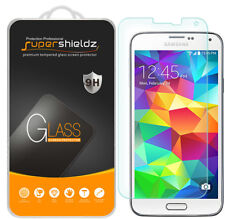 Supershieldz Tempered Glass Screen Protector Saver For Samsung Galaxy S5