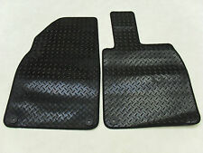 Porsche Cayman 2013-on Fully Tailored Deluxe RUBBER Car Mats in Black