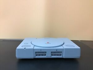 Sony PlayStation 1 gaming console (gray)