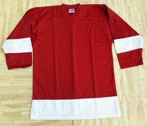 NEW YOUTH M Heavyweight NHL Replica Hockey Practice Jersey Detroit Red Wings
