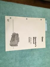 New Onan Generator Genset Jb And Jc Series Operators Manual Catalog Lot 136