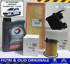 ORIGINALE CITROEN PEUGEOT inspektionskit c3 II 207//CC//SW 1.6 HDI 90 CV