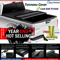 Fits 2005-2015 Toyota Tacoma Assemble Lock Soft Tri-fold Tonneau Cover 5ft Bed