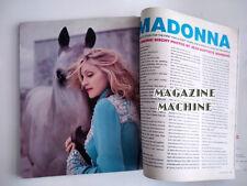 Madonna magazine madonna music INTERVIEW- March 2001- 208 pages US pop star