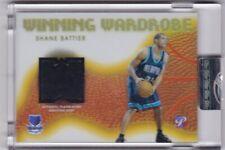 Shane Battier Game Worn Patch Basketball Card 2005 Topps Pristine WW-SB 20/25 Mt