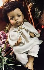 AFRICAN AMERICAN PORCELIAN DOLL by Dianna Effner / THIS PIECE IS BEAUTIFUL