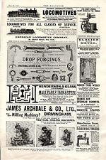 Locomotive, vernice miscelatori, fresatrici, Vite Bullone Makers, DEI POZZI ARTESIANI