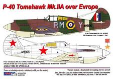 AML Models Decals 1/72 CURTISS P-40 TOMAHAWK Mk.IIA OVER EUROPE