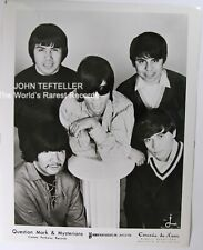 ORIGINAL 1960's 8x10 Publicity Photo Question Mark & Mysterians Rock