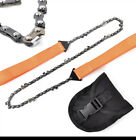 Pocket Chain Saw Chainsaw Survival Hand Tool GET IT FAST ~ US SHIPPER