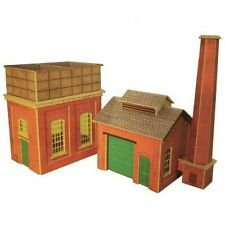 PO227 00 / H0 Water Tower & Sand House Metcalfe Model Kit Building
