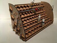 45 pot capacity Warhammer Citadel hex small painting  station rack.