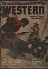 Blue Ribbon Western 1944 October. Pulp