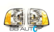 NEW CORNER PARK SIGNAL LIGHTS LENS SET FOR 1994-2002 DODGE RAM 1500 2500 3500