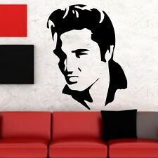 Elvis Presley Face Music Removable Wall Art Sticker Vinyl Decal Home Decor