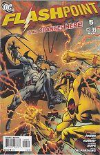 Flashpoint #5 (of 5) Garcia Lopez Variant Batman Reverse Flash 52 Batgirl DC NM