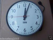 VINTAGE IBM CV 115 VOLT 12 HOUR PLUG IN CLOCK 3 PRONG
