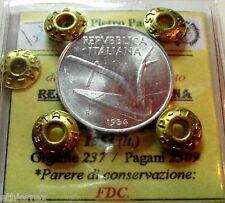 Repubblica Italiana (10 LIRE 1954) FDC.