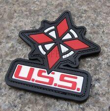 Resident Evil Umbrella Corporation U.S.S 3D PVC Shoulder Patch (NO.PB070)