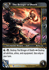 WOW Warcraft TCG ARCHIVES FOIL THE BRINGER OF DEATH X 4