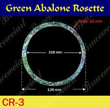 Free Shipping, Green Abalone Rosette / inside= 108mm, W=10 mm (GCR3-5)