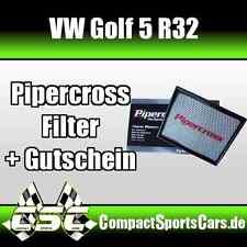 VW Golf 5/V R32 3.2 | 250PS | Pipercross Sportluftfilter/Tauschfilter ÖLFREI