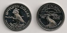 1982 Cape Breton Canso Causeway MacPuffin Trade Dollar