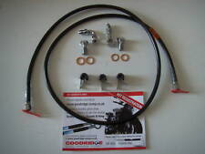 "Goodridge Black Front Brake Line most Harley-Davidson 50"" Long With AN3 Fittings"