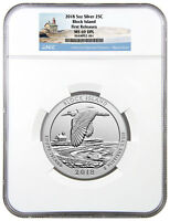 2018 Block Island 5 oz Silver ATB America Beautiful NGC MS69 DPL FR SKU49856