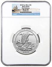 2018 Block Island 5 oz Silver ATB America Beautiful NGC MS69 DPL FR SKU49856