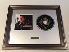 PERSONALLY SIGNED/AUTOGRAPHED AUSTIN MAHONE - THE SECRET CD FRAMED PRESENTATION