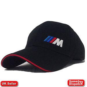 BMW M Collection Mens Womens Adjustable Six-panel Cap Hat Logo Black 80162410913