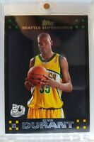 TOPPS 2007 07-08 Kevin Durant Rookie RC #2, Black BORDER Parallel MVP Warriors