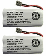 Uniden BT-1021 BT1021 BBTG0798001 Rechargeable Cordless Handset Battery (2-Pack)