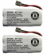 Uniden BT-1021 BT1021 BBTG0798001 Rechargeable Cordless Handset Battery (2-Pack)