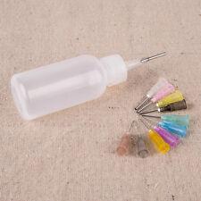 30ml Needle Tip Dispenser Bottle for Rosin Solder Soldering Liquid Flux 11Needle