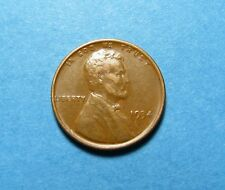 1934  LINCOLN WHEAT CENT ~  HIGHER GRADE + NICE EYE APPEAL ~ COMB SHIP LOT T112