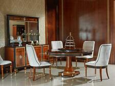 Round Dining Room +8 Chairs Chair Set Set round Table Wood Tables round E68